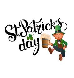 StPatricks Day vector image