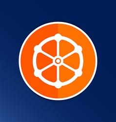 valve icon button logo symbol concept vector image