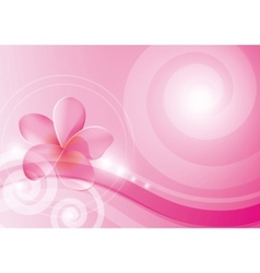 Pink abstract vector