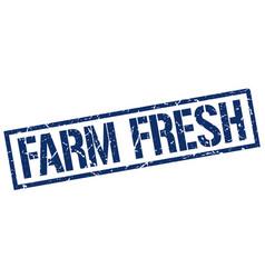 Farm fresh stamp vector