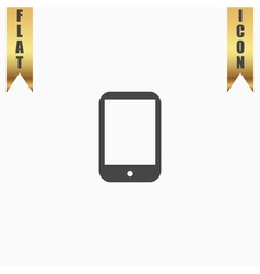 Modern digital tablet pc icon vector