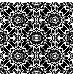 Endless texture oriental geometric ornament vector