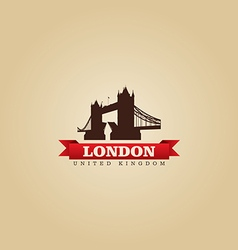 London united kingdom city symbol vector