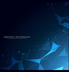Awesome technology particles background design vector