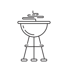 Barbeque party icon vector image