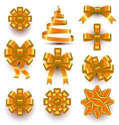 Bows and Ribbons vector image vector image