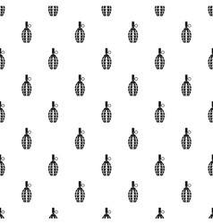 Grenade pattern simple style vector image