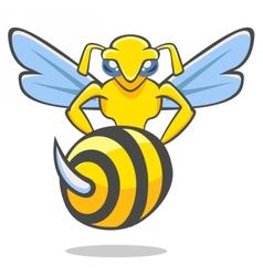 Hornet emblem vector