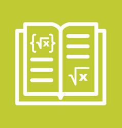 Math book i vector