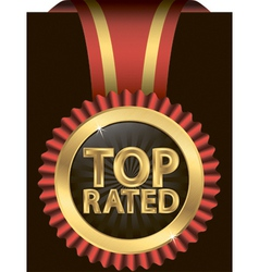 Top rated awards vector