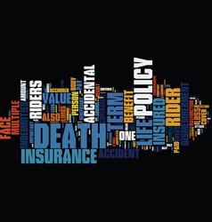Term life insurance vs bank mortgage insurance vector