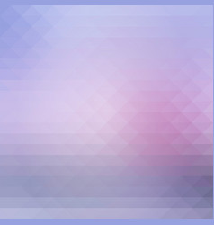 Pink grey rows of triangles background square vector