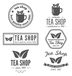 Set of vintage labels emblems and logo templates vector