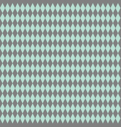 tile pattern or mint green and grey wallpaper vector image