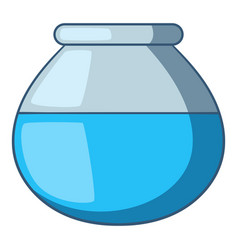Water pitcher icon cartoon style vector
