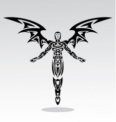 Angels tribal vector