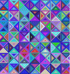 Abstract colorful triangle background design vector