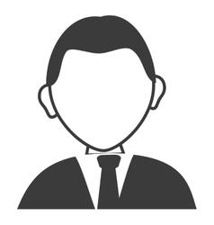Businessman avatar profile vector image