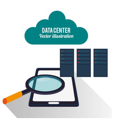 Data center mobile phone cloud search vector