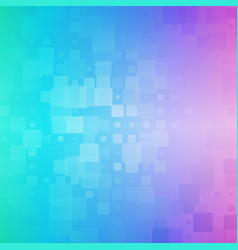 Green blue pink glowing rounded tiles background vector