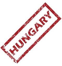 New hungary rubber stamp vector
