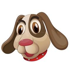 A cute puppy vector
