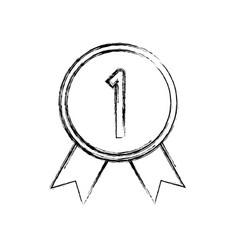 Award sport medal vector