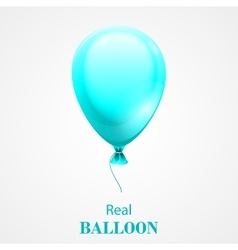 Festive balloon isolated on white background vector