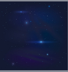 dark night starry sky background vector image vector image
