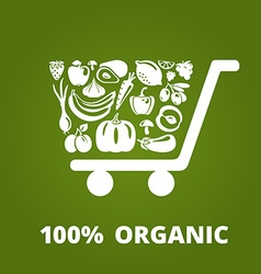 OrganicCart vector image