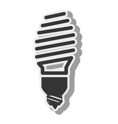 bulb savers light idea creative design vector image