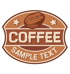 Coffee symbol vector