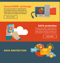 Secure data exchange and protection program vector