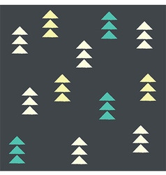 Geometric triangles seamless pattern vector
