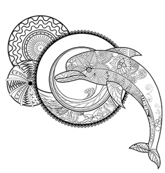 Dolphin 11 vector image