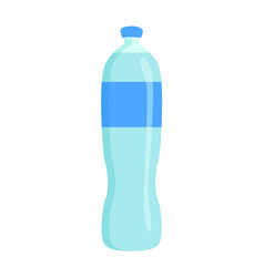 Bottle of pure water banner vector