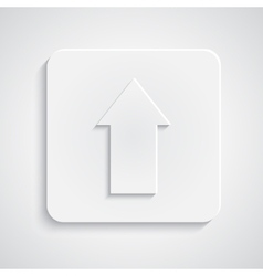 Paper upload sybmol vector