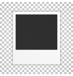 Realistic photo frame vector image