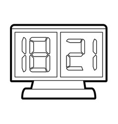 score board vector image vector image