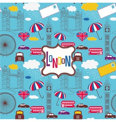London screenprint design vector