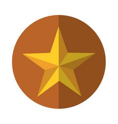 Little star decorative icon vector