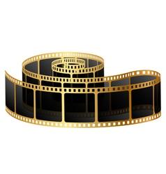 Golden film vector