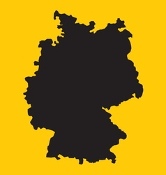 Germany map1 vector