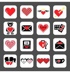 Love2 vector image vector image