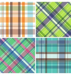 Madras pattern vector image