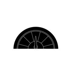 speedmeter icon image vector image