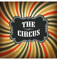 Circus background retro vector