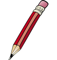 Pencil clip art cartoon vector