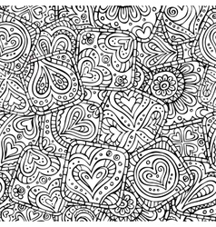Love and feeling theme seamless pattern vector