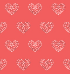 heart patterno1 vector image